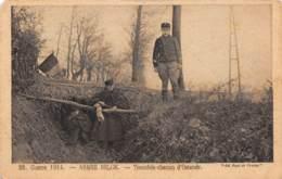 Guerre 1914 - Armée Belge - Tranchée Chemin D'OSTENDE - Oostende