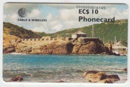 Antigua And Barbuda Phonecard - Superb Fine Used 10EC$ - Antigua En Barbuda