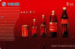 CHINA. COCA COLA. GXWT-IP-2005-P15(5-4). (785) - China