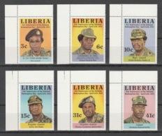 Liberia - 1983 - ( 3rd Natl. Redemption Day ) - Complete Set - MNH** - Liberia