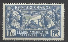France N° 245  Légion Américaine      Neuf * * TB  = MNH  VF   Soldé  à  Moins De 15 ! ! ! - France