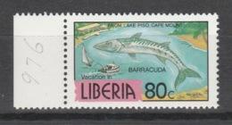 Liberia - 1983 - ( Barracuda ) - MNH** - Liberia