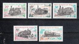 Mali 1972 **, Dampflokomotiven, Kaktus  / Mali 1972, MNH, Steam Locomotives, Cactus. - Sukkulenten