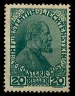 LIECHTENSTEIN 1918 Nr 10 Postfrisch X6F6EA6 - Ungebraucht