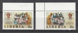 Liberia - 1984 - ( Indigent Children Home, Bensonville ) - Complete Set - MNH** - Liberia