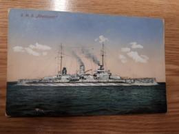 "Postcard - Ship ""Rheinland""      (27815) - Krieg"
