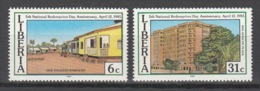 Liberia - 1985 - ( Liberian Revolution, Fifth Anniversary. ) - Complete Set - MNH** - Liberia