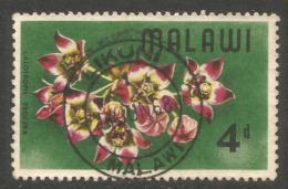 MALAWI. 4d LIKUNI POSTMARK. FLOWERS - Malawi (1964-...)