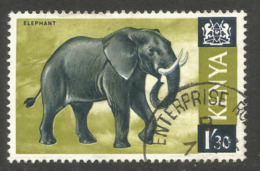 KENYA. 1/30 ELEPHANT. USED - Kenya (1963-...)