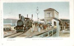 12168 - Messina - Manovra Del Treno Sul Ferry-Boat Alla Stazione Porto - Messina