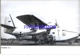 119991 AVIATION AVIACION GRUMMAN UF I AIRPORT PHOTO NO POSTAL POSTCARD - Non Classés