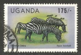 UGANDA. 175/- ZEBRAS. USED - Uganda (1962-...)