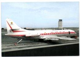 Aerospatiale SE210 Caravelle 6R Of Hang Khong Vietnam Pictured At Saigon In May 1974 - Viêt-Nam