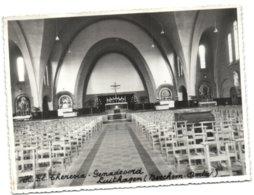 Berchem - Paters Karmelieten - Kerk V. H. Kl. Theresia - Binnenzicht - Antwerpen