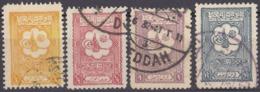 ARABIA SAUDITA - 1926/1927 - Lotto Composto Da 4 Valori Usati: Yvert 70, 72, 73 E 74. - Arabia Saudita