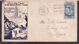 USA - 1934 - Lettre - FDC - Byrd Expédition Antarctique II - Expéditions Antarctiques