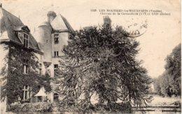 LES MOUTIERS-les-MAUXFAITS - Château De La Cantaudière - Moutiers Les Mauxfaits