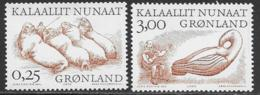 Greenland Scott # 358-9 MNH Arctic Vikings Type, 2000 - Greenland