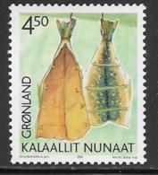 Greenland Scott # 384 MNH Smoked Fish, 2001 - Greenland