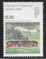 Greenland Scott # 484 MNH Science Arctic Station, 2006 - Greenland