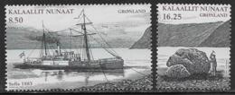 Greenland Scott # 527-8 MNH Explorer Nordenskiold And Ship,2008 - Greenland