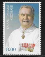 Greenland Scott # 541 MNH Prince Henrik Birthday, 2009 - Unused Stamps
