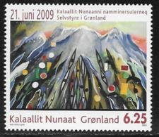 Greenland Scott # 542 MNH Self-Governance, 2009 - Unused Stamps