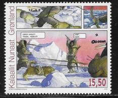 Greenland Scott # 544 MNH Comic Strip, 2009 - Greenland