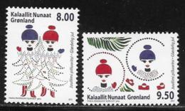 Greenland Scott # 630-1 MNH Christmas, 2012 - Unused Stamps