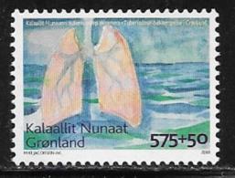 Greenland Scott # B33 MNH Tuberculosis Fight, 2008 - Unused Stamps