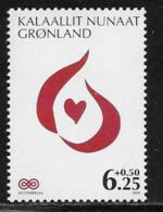 Greenland Scott # B34 MNH Cancer Fight, 2009 - Unused Stamps