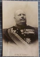 11.539) Portugal Monarquia Rei D. Carlos I - Familias Reales