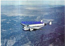 120003 AVIATION AVIACION THE LEASTAR 18 X 12.5 CM POSTAL POSTCARD - Aviation