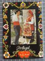 H254) Portugal Costumes Portugueses Aspectos Do Folclore Viana Do Castelo Ed. Lusocolor CARIMBO AMBULÂNCIA MINHO II - Unclassified