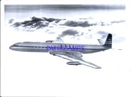 120005 AVIATION AVIACION B.O.A.C FLIGHT 21 X 15 CM BREAK PHOTO NO POSTAL POSTCARD - Aviation