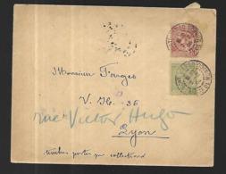 Monaco Lettre Du 02 02 1905 Pour Lyon  '(  France) Affranchissement 15 C - Covers & Documents
