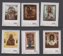 Poland Scott 3020-3025 1991 Polish Icons,mint Never Hinged Set - 1944-.... Republic