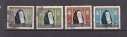 Portugal SG 1158-1161 1958 500th Birth Anniversary Queen Leonora,used - 1910-... Republic