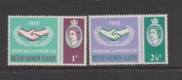 Solomon Islands SG 129-130 1965 ICY,mint Never Hinged - Solomon Islands (1978-...)
