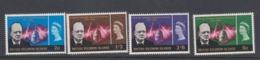 Solomon Islands SG 131-134 1966 Churchill,mint Never Hinged - Solomon Islands (1978-...)