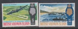 Solomon Islands SG 160-161 1967 Guadalcanal,mint Never  Hinged - Solomon Islands (1978-...)