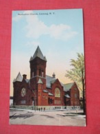 Methodist Church  Corning  New York     Ref 3628 - Autres