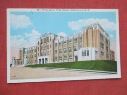 West Junior High School Binghamton  New York     Ref 3628 - Autres