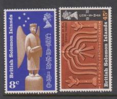 Solomon Islands SG 199-200 1970 Christmas,mint Never  Hinged - Solomon Islands (1978-...)