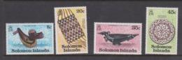 Solomon Islands SG 376-379 1979 Artefacts ,mint Never  Hinged - Solomon Islands (1978-...)
