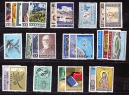 GREECE 1965 Complete All Sets MNH Vl. 935 / 961 - Griekenland