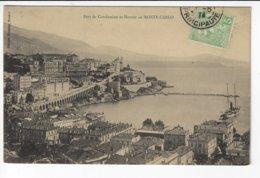MONACO - Port De Condamine Et Montée De MONTÉ-CARLO - 1914 (T163) - La Condamine