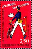 France Poste N** Yv:2793 Mi:2939x Journée Du Timbre La Distribution Du Courrier - Frankreich