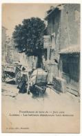 CPA - LAMBESC (Bouches Du Rhône) - Tremblement De Terre Du 11 Juin 1909 - Les Habitants Abandonnent Leurs Demeures - Lambesc