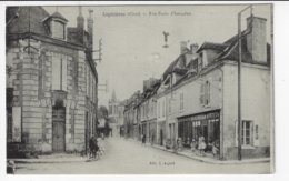 18 - LIGNIÈRES - Rue Porte D'Issoudun - Animée - 1934 (T177) - Otros Municipios